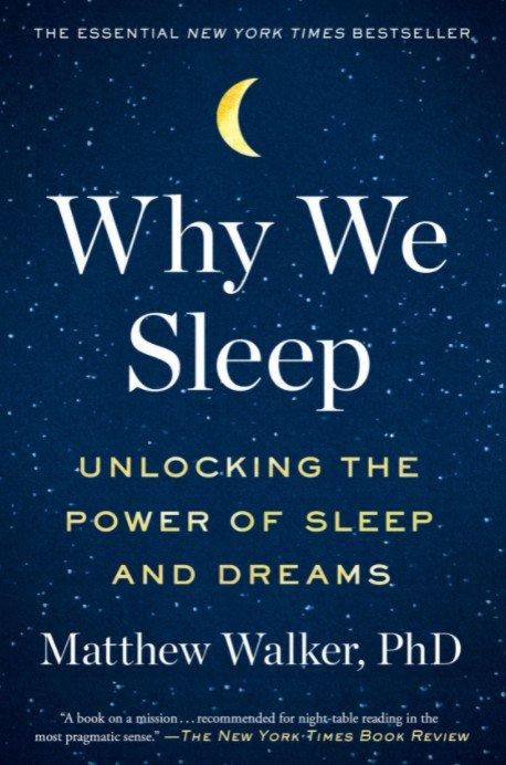 """""""Why we sleep"""" – najważniejsza książka o spaniu jaką można przeczytać?"""